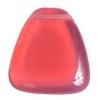 Glass Bead 23x24mm Drop Pink Opal Nature - Strung
